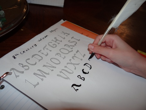 8th Century Vatican font