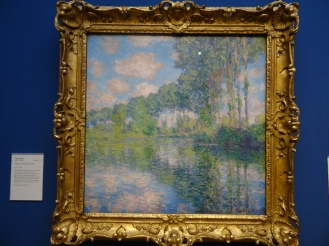 Monet - Poplars on the River Epte