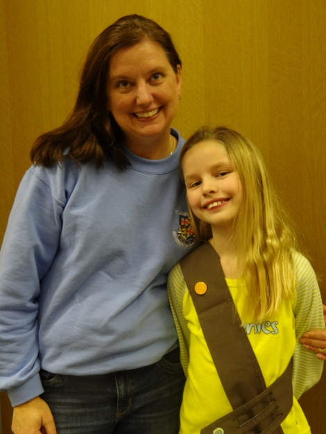 Two Generations of Girl (Scouts) Guides.