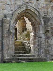 A beautiful doorway to the past.   One of our favourite parks in Durham.