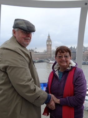 MArme and PA on the London Eye