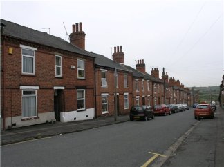 Example of terraced homes