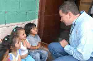 Rob with some of the beautiful children of Ecuador. (Shared with permission.)