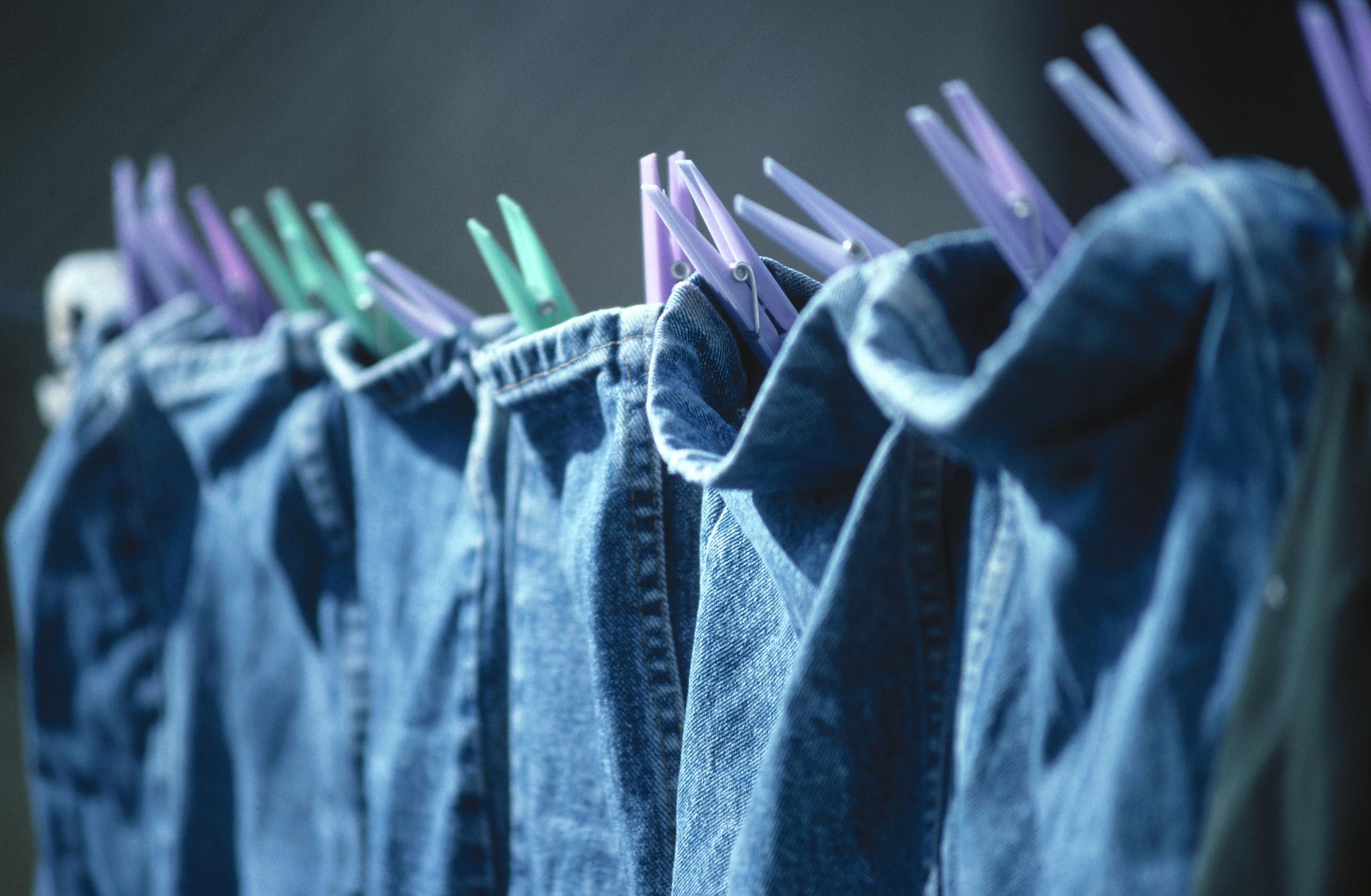 Image result for drying denim