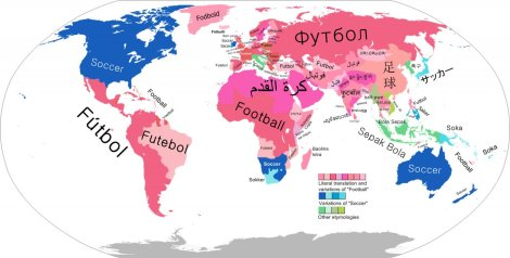 "Americans aren't the only ones who use the term ""soccer.""  Image: Business Insider."