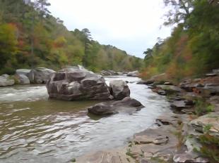 Beautiful Little River Canyon