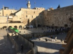 The Western Wall: one of the holiest sites in the world.