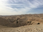 The wilderness between Jerusalem and Jericho
