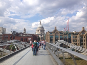 Millennial Bridge with St. Paul's