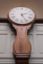 The original clock. The first service was at 5am and people had to make it to work!